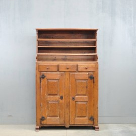 German oak food cabinet | De Grande Antique Furniture