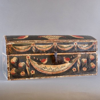 Antique Friesland box | De Grande Antique And Decorative Objects