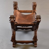 Antique Oak Dagobert chair | De Grande Antique Furniture