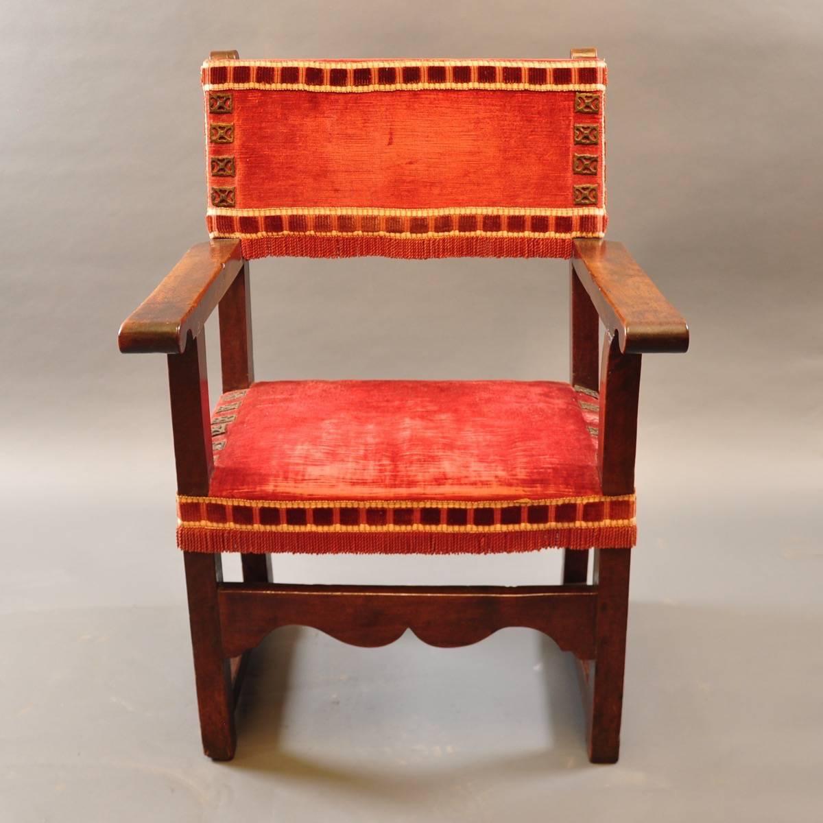 Antique spanish armchair de grande antique furniture for Furniture in spanish