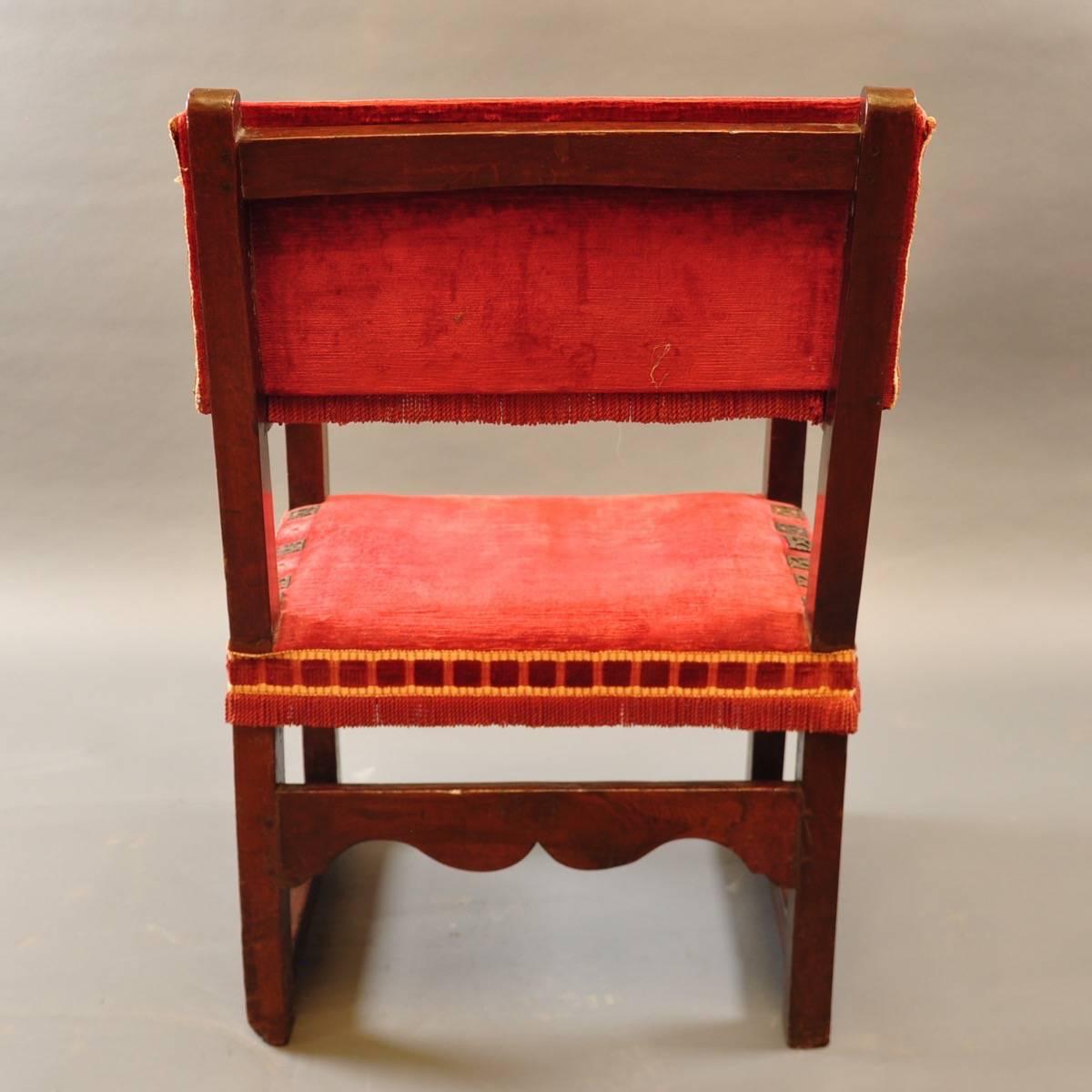 Antique Spanish Armchair De Grande Antique Furniture