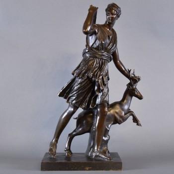 Bronze of Dianna | De Grande Bronze Sculptures