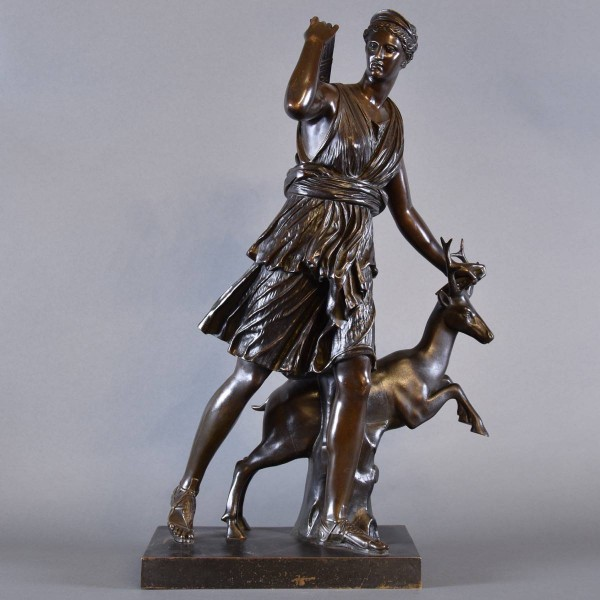 Bronze of Dianna | De Grande Bronze Sculptures
