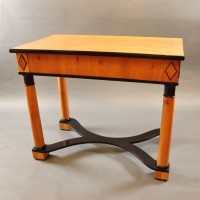 Biedermeier fruitwood table