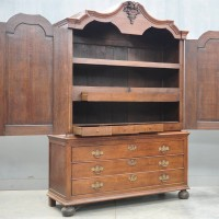 Early Dutch oak cabinet | De Grande Antique Furniture
