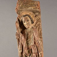 Early sculpture of saint michael | De Grande Early Sculptures