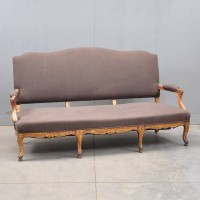 Louis XV style Settee | De Grande French Antique Furniture