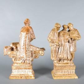 Group of 16 fine bronze Figures | De Grande Fine Bronzes