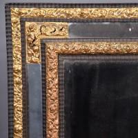 Brass Decorated Mirror | De Grande Antique Mirrors