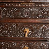 Carved Dutch bureau bookcase | De Grande Antique Furniture