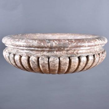 Marble vasque | De Grande Antique Garden Ornaments