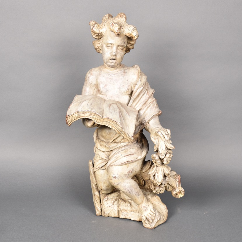 Wooden Angel De Grande Antiques And Decorative Objects