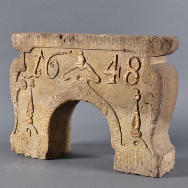 Dutch overdoor ornament   De Grande Early Decorative objects