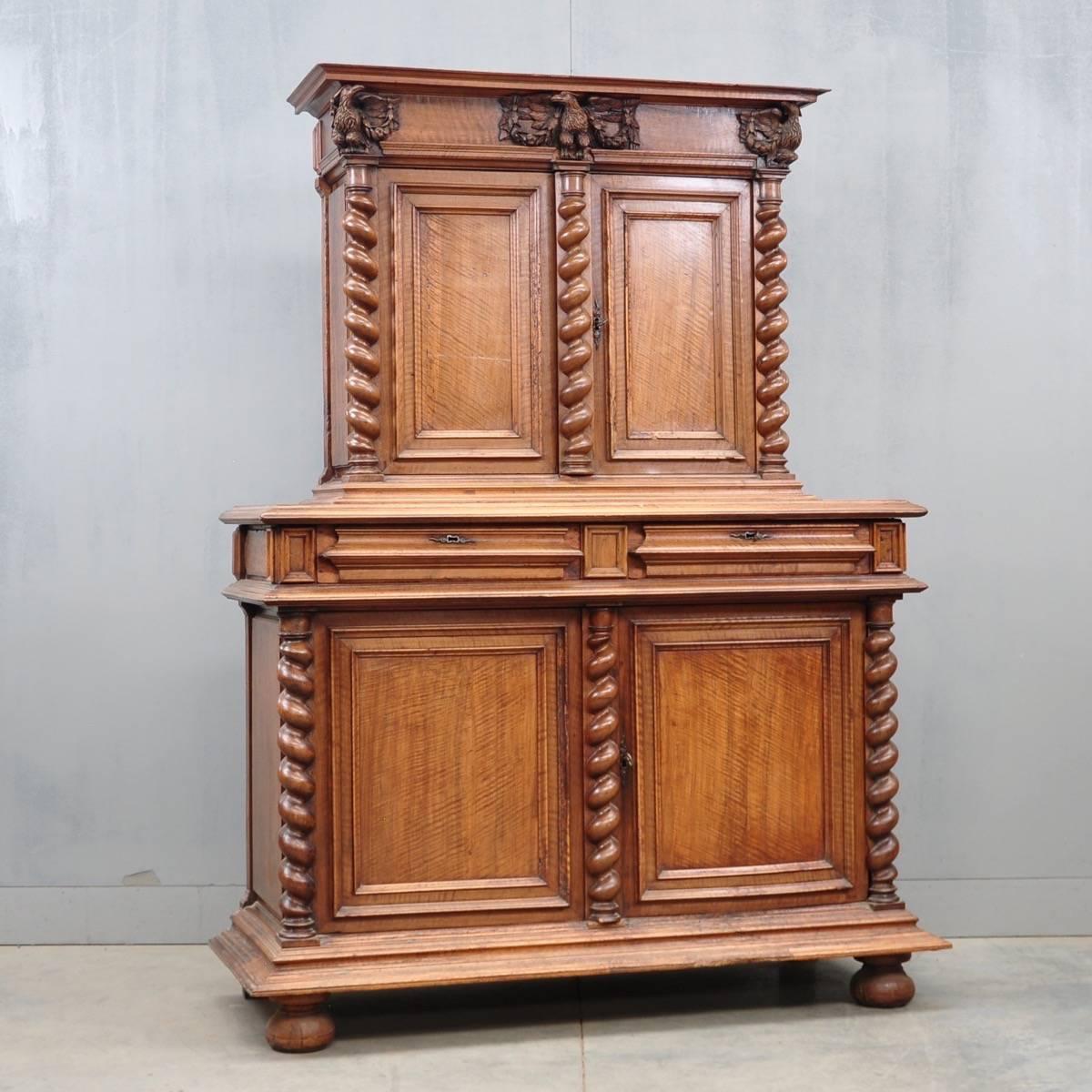 French Walnut cabinet. antique ... - French Walnut Cabinet De Grande French Antique Furniture