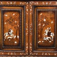 Inlaid Italian Cabinet | De Grande italian Antique Furniture