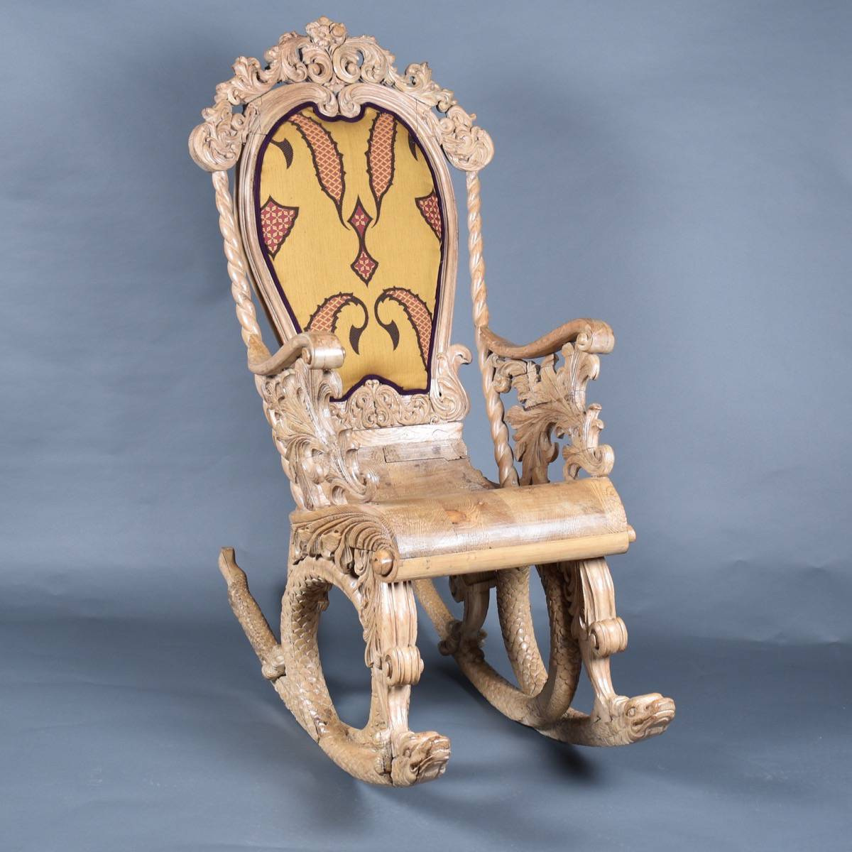 Antique North Italian chair | De Grande Italian Antique Furniture - North Italian Chair De Grande Italian Antique Furniture
