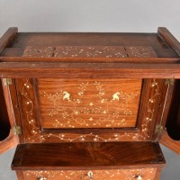 Colonial antique Miniature press cupboard | De Grande Antique Furniture