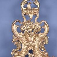 Pair of gilded wooden Elements | De Grande Antique Furniture