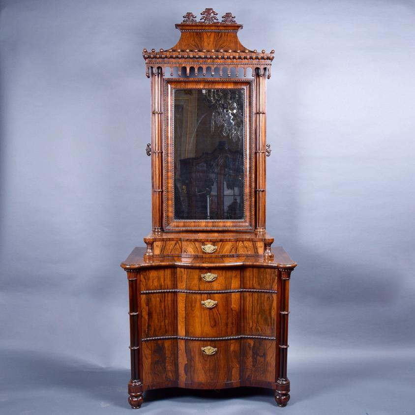 - Rosewood Dressing Table De Grande Antique Furniture