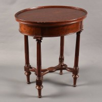 Oval Table stamped GROHÉ | De Grande French Antique Furniture