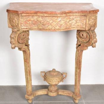 Gilded French console | De Grande French Antique Furniture