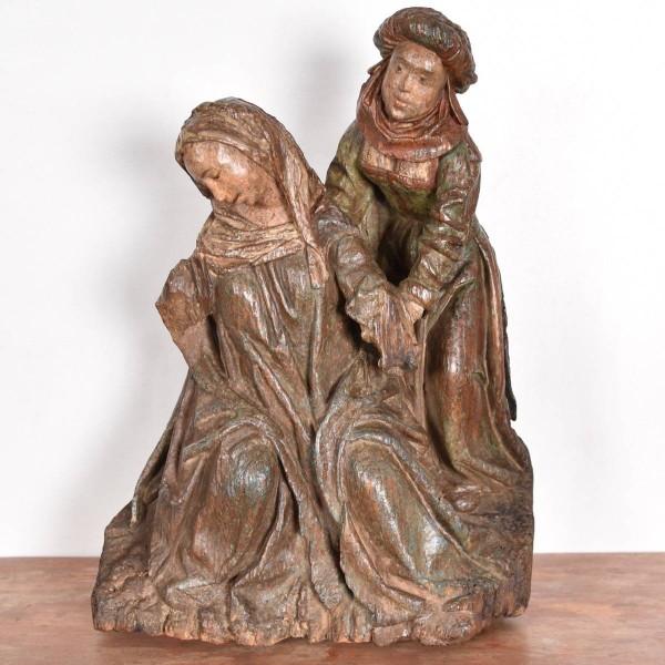 Antwerp or Brussels group | De Grande Haute Epoque wooden sculpture