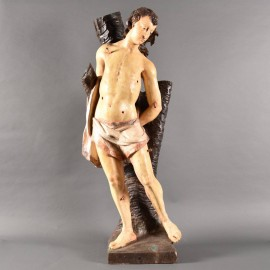 Carved Figure of Saint Sebastian | De Grande Haute epoque