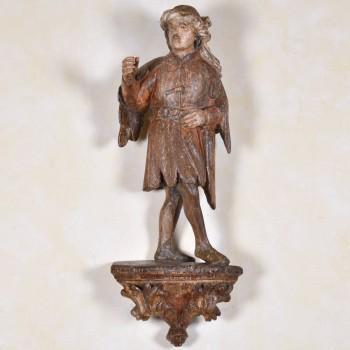 King Melchior | De Grande Flemish haute epoque Sculptures