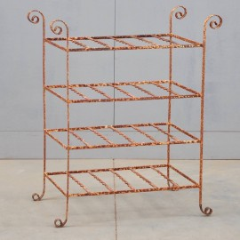 Antique Garden Iron Etagere