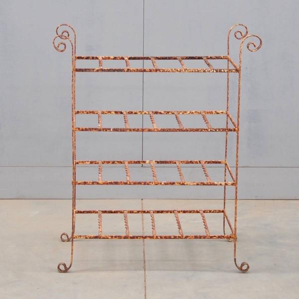 decorative iron etagere antique garden decoration. Black Bedroom Furniture Sets. Home Design Ideas