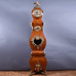 Marquetry Inlaid Tall case Clock