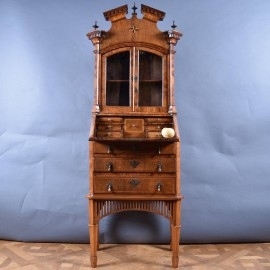North German Bureau Bookcase