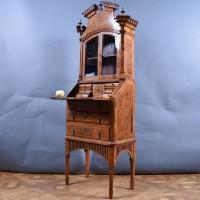 Antique German Bureau Bookcase