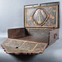 Portable Antique Ducth Home Altar