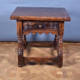Italian Walnut Table | De Grande Italian Antique Furniture
