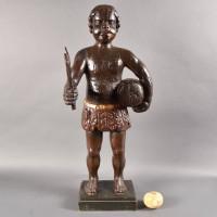 Dutch Carved Tobacco Figure | De Grande Decorative Objects