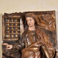 Antique Figure of Saint Anne