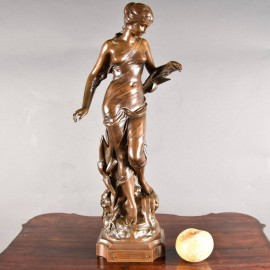French Bronze 'La Source' by E. Drouot | De Grande Fine Arts and Bronze Sculptures
