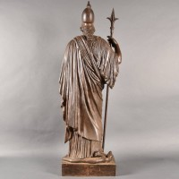 French Cast iron Athena