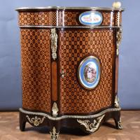 French Marquetry inlaid cabinet | De Grande French Antique Furniture