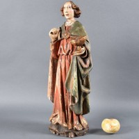 German Figure of Saint Jean | De Grande Haute époque