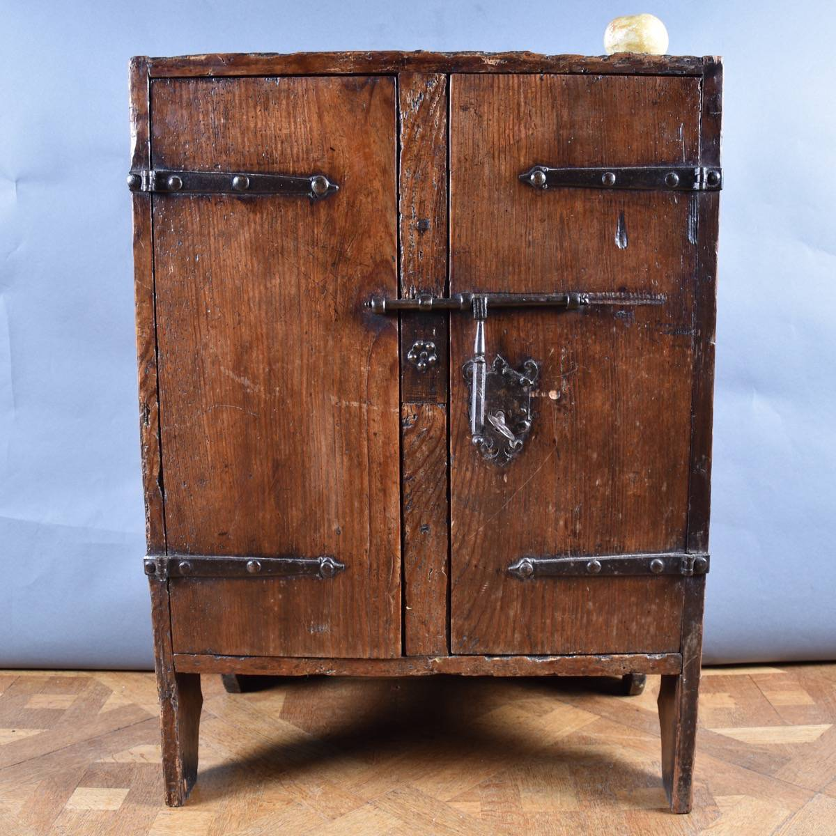 Stunning Haute Epoque Early Small Cabinet