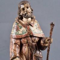 Spanish San Roque Sculpture