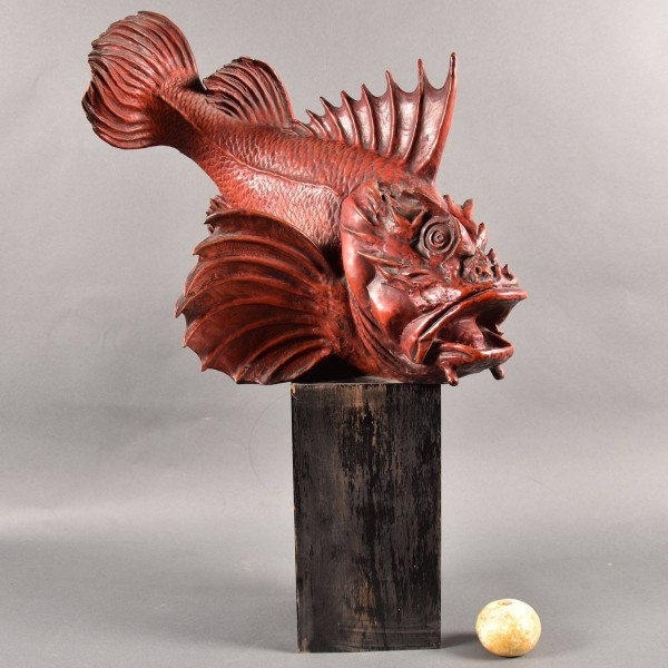 Italian Earthenware Rascasse or Scorpion Fish