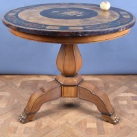 Italian Table with Scagliola top | De Grande Antique Italian Furniture