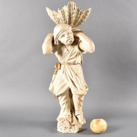 Venetian wooden figure | De Grande Italian Decorative Objects
