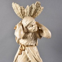 Venetian wooden figure | De Grande Italian Decorative Objects