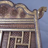 Vintage Antique Indian Rope Bench