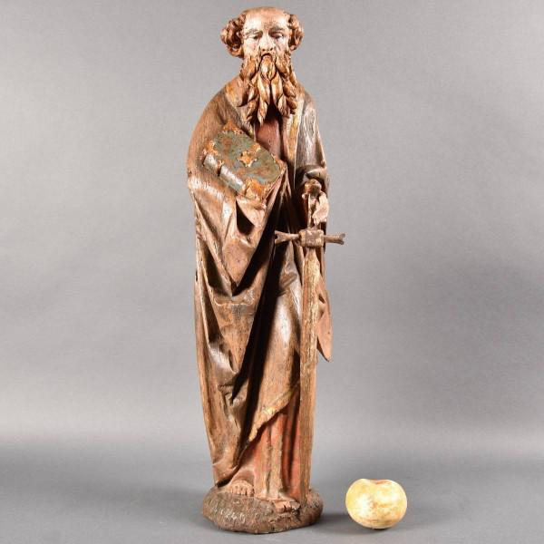 German figure of Saint Paul | De Grande Haute epoque