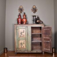 Italian Arte Povera Cupboard 18th Century